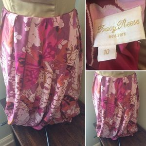 Tracy Reese New York Silk Bubble Skirt